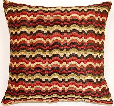 Dakotah Pillow Throw Pillow (Set of 2); Jewel