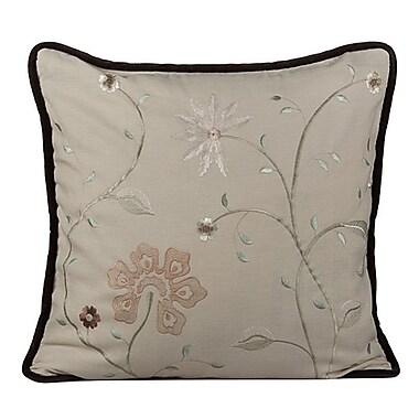 Gracious Living Golden Throw Pillow; Wheatish