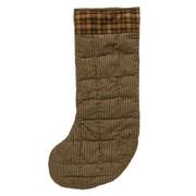 Patch Magic Hunter & Check Fabric Stocking (Set of 2)