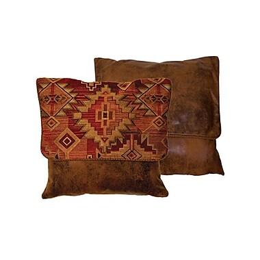 Wooded River Bessie Gulch Throw Pillow