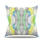 KESS InHouse Wormland Throw Pillow; 16'' H x 16'' W