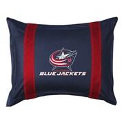 Sports Coverage NHL Columbus Blue Jackets Sidelines Sham