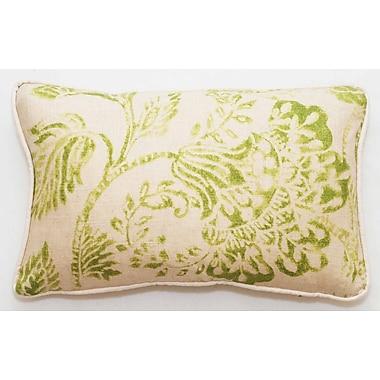 Corona Decor Bal Lumbar Pillow; Green Bright
