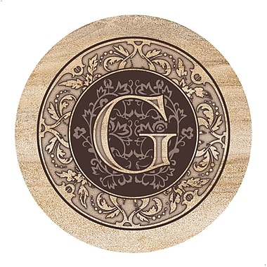 Thirstystone Monogram Coaster (Set of 4); G