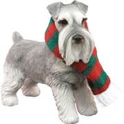Sandicast Standing Schnauzer Christmas Ornament
