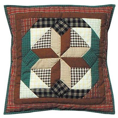 Patch Magic Giftwrap Cotton Throw Pillow