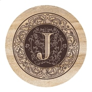 Thirstystone Monogram Coaster (Set of 4); J
