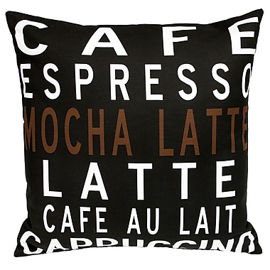 Uptown Artworks Caf Throw Pillow
