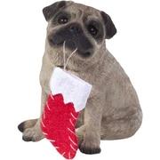 Sandicast Pug Christmas Tree Ornament