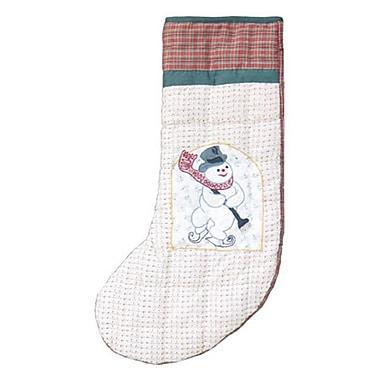 Patch Magic Jolly Snowmen Stocking