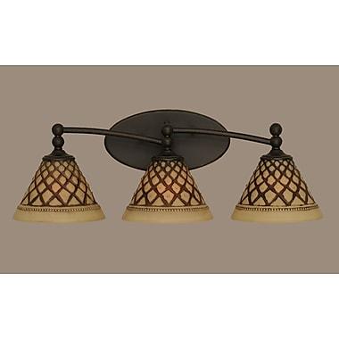 Toltec Lighting Capri 3-Light Vanity Light