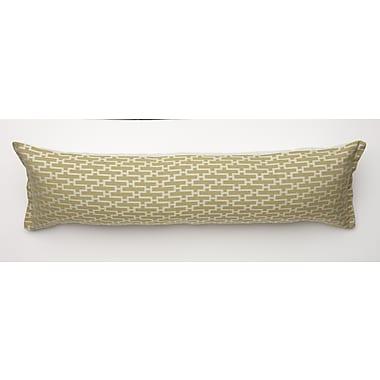 Corona Decor Dream Weave Body Pillow; Key Lime