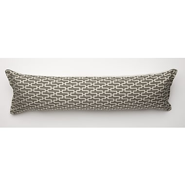 Corona Decor Dream Weave Body Pillow; Grey