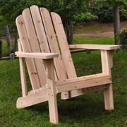 Shine Company Inc. Marina Adirondack Chair; Natural