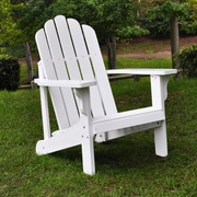 Shine Company Inc. Marina Adirondack Chair; White