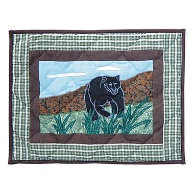 Patch Magic Bear Country Cotton Boudoir/Breakfast Pillow