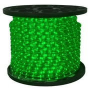 Queens of Christmas Rope Light; Green