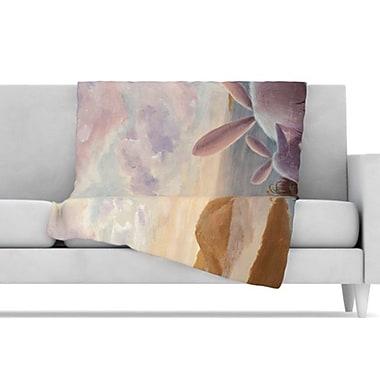 KESS InHouse A New Perspective Fleece Throw Blanket; 80'' L x 60'' W