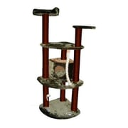 Kitty Mansions 60'' Spruce Cat Tree