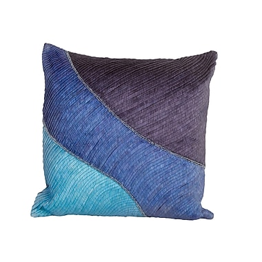 Debage Inc. Sea Side Pleated Throw Pillow