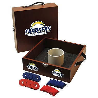 Tailgate Toss NFL Washer and Ring Toss; San Diego Chargers