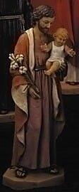 Fontanini 20'' Joseph w/ Child Figurine