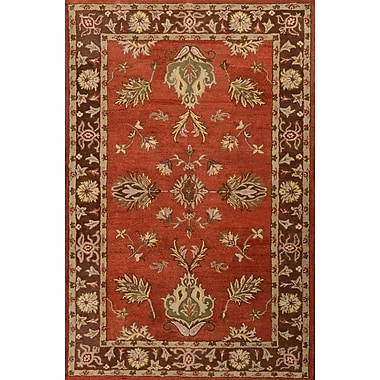 MOTI Rugs Cairo Red/Brown Area Rug; 8' x 11'