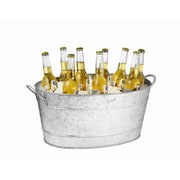 Tablecraft 710 Oz. Galvanized Steel Beverage Tub by
