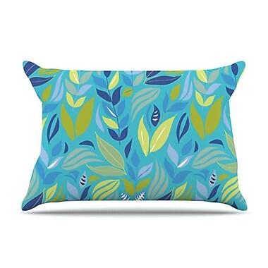 KESS InHouse Underwater Bouquet Pillowcase; Standard