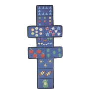Fun Rugs Fun Shape Medium Pile Hopscotch Area Rug; Novelty 2'6'' x 6'6''