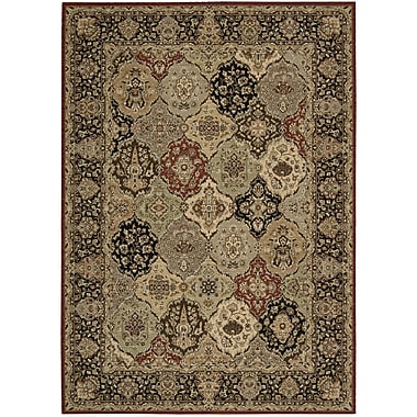 Kathy Ireland Home Gallery Lumiere Persian Tapestry Multicolor Area Rug; 5'3'' x 7'5''