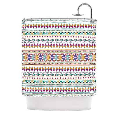 KESS InHouse Native Fiesta Shower Curtain