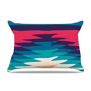 KESS InHouse Surf Pillowcase; Standard