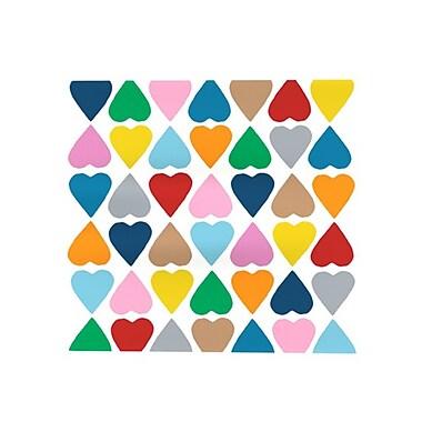 KESS InHouse Diamond Hearts Placemat; Multi