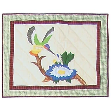 Patch Magic Hummingbird Garden Pillow Sham