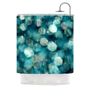 KESS InHouse Shades of Blue Shower Curtain