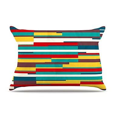 KESS InHouse Blowmind Pillowcase; Standard