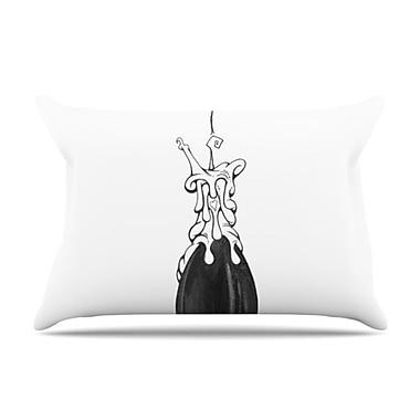 KESS InHouse 17 Pillowcase; Standard