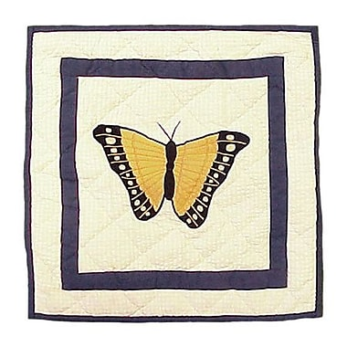 Patch Magic Butterfly Kisses Cotton Throw Pillow