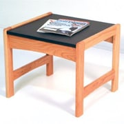 Wooden Mallet Dakota Wave End Table; Light Oak