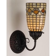 Meyda Tiffany Tiffany Acorn 1 Light Wall Sconce