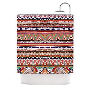 KESS InHouse Native Tessellation Shower Curtain