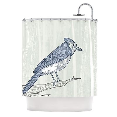 KESS InHouse Jay Shower Curtain
