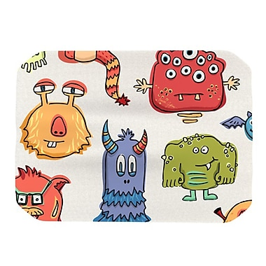 KESS InHouse Little Monsters Placemat