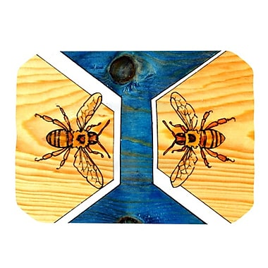 KESS InHouse Bees Placemat