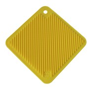 SO COOL Pot Holder Trivet; Yellow