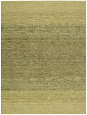 Calvin Klein Rugs Linear Glow Hand-Woven Watercolor Verbena Area Rug; 7'9'' x 10'10''