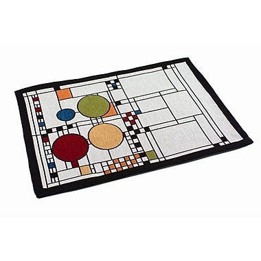 Rennie & Rose Design Group Frank Lloyd Wright Coonley Playhouse Placemat (Set of 4)