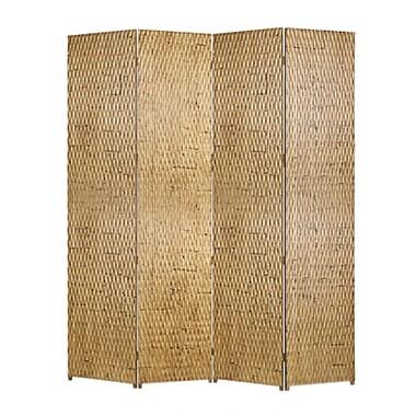 Screen Gems Gilded 84'' x 84'' 4 Panel Room Divider