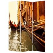Screen Gems 72'' x 48'' Venice 3 Panel Room Divider